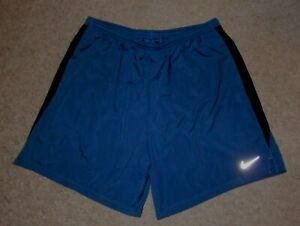 Mens XXL Nike Challenger 7 in running shorts lined Dri Fit blue $24.99