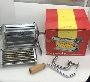 IMPERIA Noodle Machine PASTA MAKER Made In Italy Mod SP 150