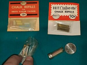 Vintage Dritz Tailors Chalk Lot Made in USA FREE SHIP $10.99