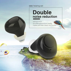 Mini in Ear Invisible Hearing Aids Rechargeable Sound Voice Amplifiers Enhancer $55.99