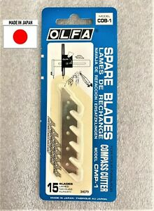 OLFA COB-1 Blades for CMP-1 Compass Cutter Brand New in Original Packaging JAPAN