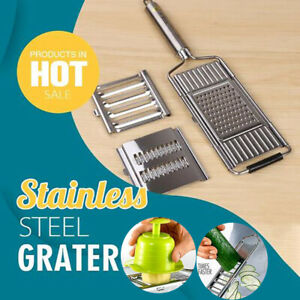 Multi-Purpose Vegetable Slicer Peeler Kitchen Tool Stainless Steel Grater