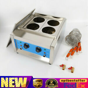 Commercial Electric Pasta Cooking Machine Noodle Cooker 4 /6 Baskets 4KW/ 6KW
