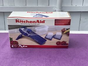 Kitchen Aid 4 Piece Mandoline Slicer Set NEW Sealed !!!