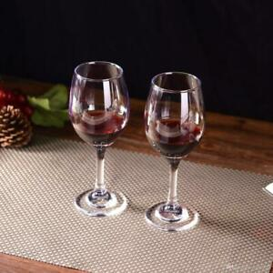 LAV Wine Glasses Set of 6, Durable Wine and Drinking Glasses 7 oz