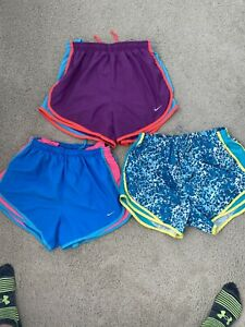 Lot Of 3 Nike Tempo Running Shorts Small Womens $10.00