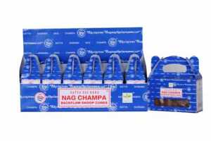 Nag Champa Backflow Incense Cones 24 Back Flow Cones in Each Pack 1 2 3 6 Pack