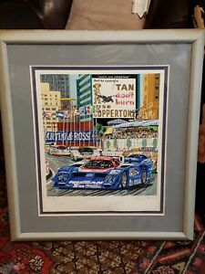 quot;Tan Don#x27;t Burnquot; Limited Edition AP Serigraph by Randy Owens Signed by Drivers $239.20