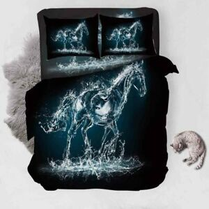 Grey Splash Man 3D Printing Duvet Quilt Doona Covers Pillow Case Bedding Sets