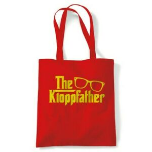 The Kloppfather Funny Tote Reusable Shopping Canvas Bag Gift