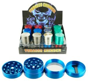 1.5quot; Tobacco Herb Grinder Spice Herbal 5 PC Metal Chromium Alloy Smoke Crusher