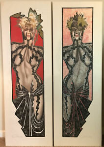 Olivia de Berardinis quot;Friday Night and Saturday Nightquot; Signed Lithographs $899.00