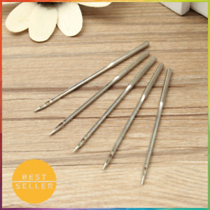 5Pcs Leather Sewing Needles Awl Shoe Repair Stitching Hand Tools Sewn Shoes $6.99