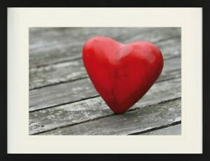 Hearts Love Heart On Floor Framed Collector Poster 31x24in #123988