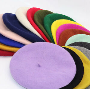 Fashion Classic French Style Wool Beret Warm Winter Hat $6.99