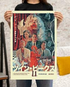 Twin Peaks Fire Walk With Me Poster No Frame