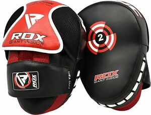 RDX Curved Focus Pads MittsHook and Jab Punching Kick Boxing Muay Thai MMA $20.95