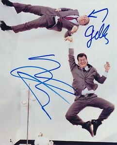 Penn and Teller signed 10x8 color photo