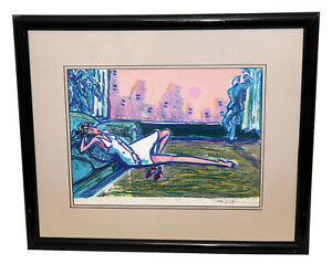 R.J. Hohimer Serigraph Signed Numbered quot;What a Viewquot; Limited Edition Print 200 $187.50