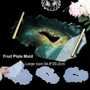 Large Silicone Resin Tray Molds for Resin Casting Tray Mold DIY Making Tray Mold