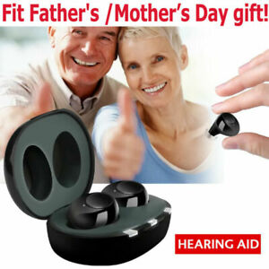 Newest Rechargeable Digital Mini In Ear Hearing Aids Adjustable Tone Amplifiers $55.99