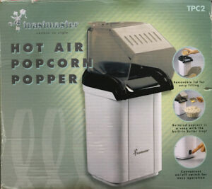 Toastmaster Hot Air Popcorn Popper Unused In Opened Box New A Great Brand