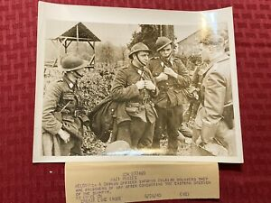"1940 WWII Original ACME News Photo ""Nazi Prizes"" 5 21 1940 WW2"