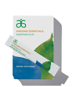 New Arbonne Essentials Digestion Plus 30 Stick Packs #2063