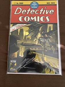 Detective Comics #1000 Alex Ross Variant Signed $350.00