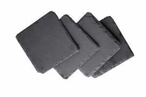 Set of 8 Natural Slate Coasters $16.99