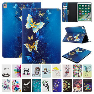 For Apple iPad 8th Gen 10.2quot; 2020 Patterned Leather Flip Foilo Stand Case Cover