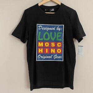Authentic Love Moschino Short Sleeve Crew Neck Mens small $54.75