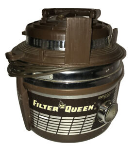 Vintage Filter Queen Vacuum D31X Tested Working