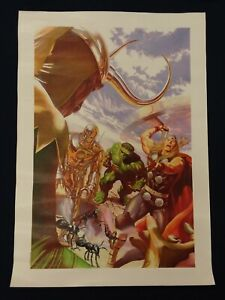 Alex Ross Marvel Comics * Avengers #1 Cover * Canvas Art Print $99.99