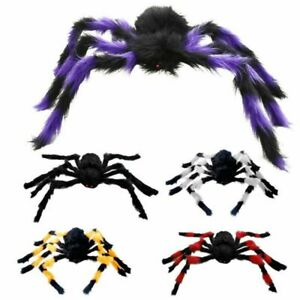 Large Outdoor Yard Spooky Spider Halloween Party Decor 30cm 75cm Colorful $7.59