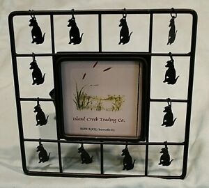 Dangly Dog Picture Frame or Cat Tea Lite Candle Holder