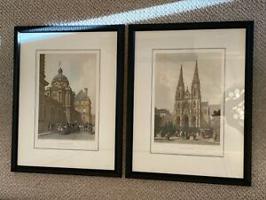 Vintage Antique Lithographs by A. Bayot and J. Gaildrau $275.00