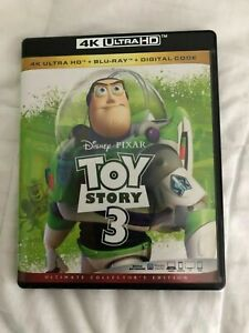 Toy Story 3 Includes 4K Ultra HD Blu ray 2010 Ultimate Collector#x27;s Edition