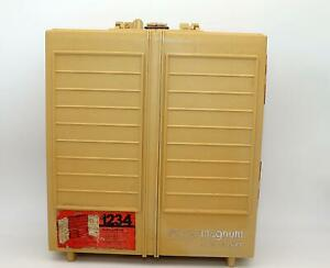 Vintage Tackle Plano Supermagnum Double Sided Tackle Box For Fishing Lures