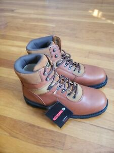 Wolverine Work Boots Men#x27;s 6quot; Boot W04213 Brown Leather size 13 brand new 13M $119.99