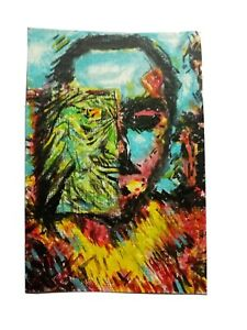 Original painting 4x6quot; acrylic on canvas paper $3.00