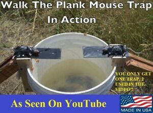 Original Walk The Plank Mouse Trap Auto Reset Made In Kentucky USA
