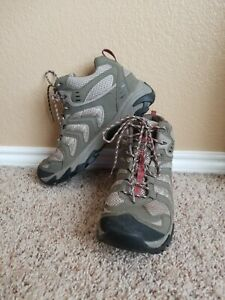 Cabelas Boots Leather Hiking Trail Ankle Lace Up Womens 10M