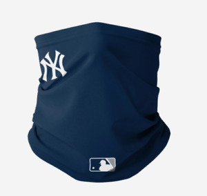 NEW YORK YANKEES MLB LOGO ON FIELD GAMEDAY GAITER SCARF 2020