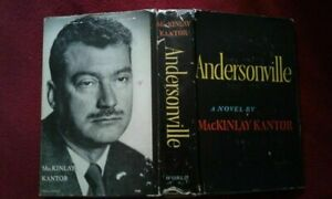 Andersonville by Mackinlay Kantor 1st Edition Pulitzer winner $50.00