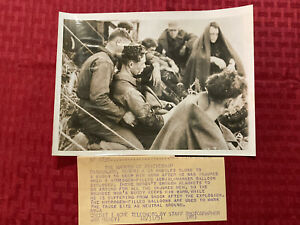 "Original Acme News Telephoto ""The Warmth Of Friendship"" Korea 1951"