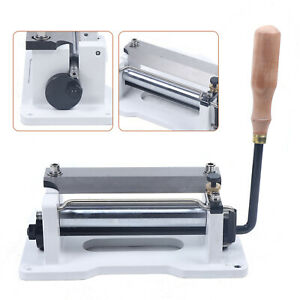 Stainless Steel Leather Paring Manual Leather Skiver Peeler Leather Machine $135.00