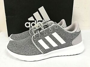 adidas Womens Cloudfoam QT Racer Athletic Running Shoes PICK SIZE GREY 0T 01 $21.99