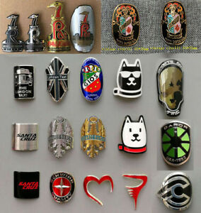 Metal Alloy Head Badge Decals Frame Stickers Road Bike MTB BMX Bicycle $7.96