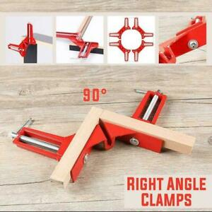 90Degree Right Woodworking Angle Picture Frame Corner Clamp Holder Han Clip Tool $6.69